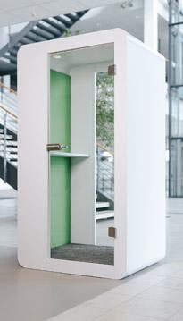 Büromöbel-kühnle'waiko-Telefonzelle